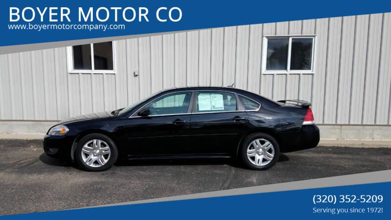 2011 Chevrolet Impala for sale at BOYER MOTOR CO in Sauk Centre MN