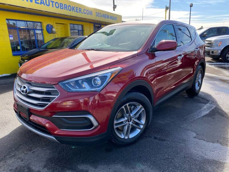 2018 Hyundai Santa Fe Sport for sale at New Wave Auto Brokers & Sales in Denver CO