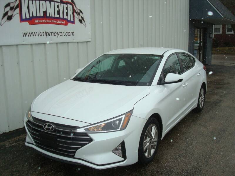 2019 Hyundai Elantra for sale at Team Knipmeyer in Beardstown IL