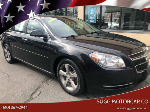2012 Chevrolet Malibu for sale at Sugg Motorcar Co in Boyertown PA