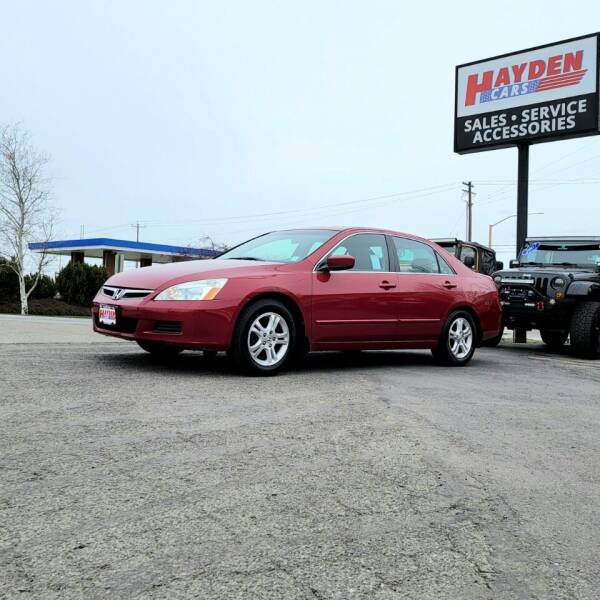 2007 Honda Accord for sale at Hayden Cars in Coeur D Alene ID