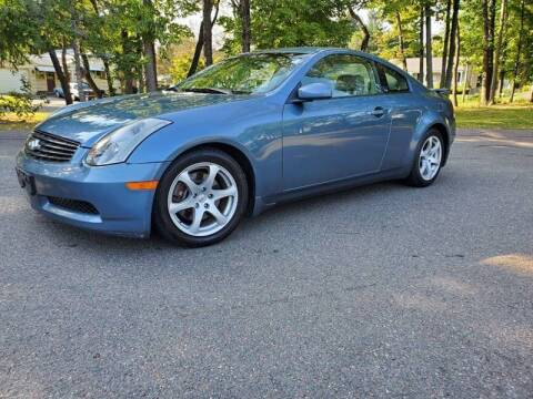2005 Infiniti G35 for sale at Russo's Auto Exchange LLC in Enfield CT