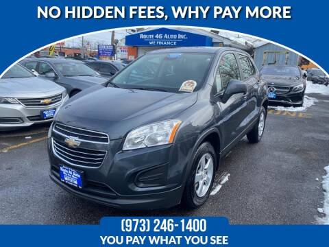 2016 Chevrolet Trax for sale at Route 46 Auto Sales Inc in Lodi NJ