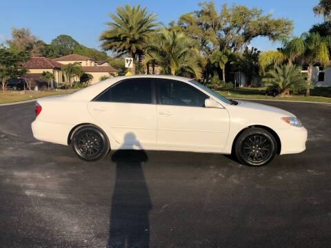 2005 Toyota Camry for sale at Unique Sport and Imports in Sarasota FL