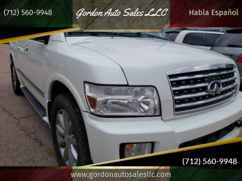 2008 Infiniti QX56 for sale at Gordon Auto Sales LLC in Sioux City IA
