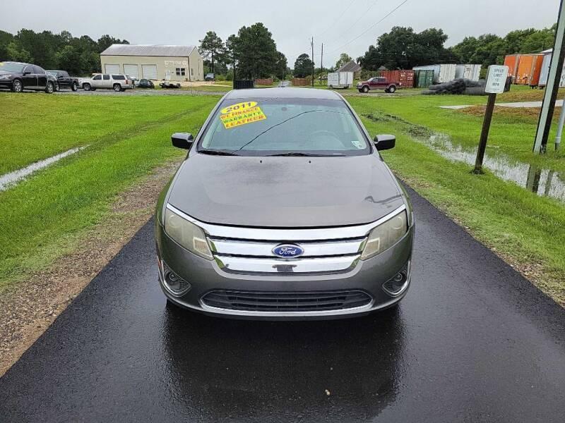 2011 Ford Fusion for sale at Auto Guarantee, LLC in Eunice LA