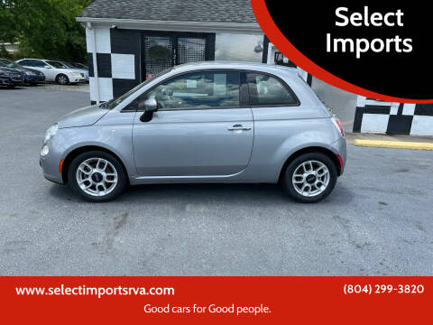 2015 FIAT 500 for sale at Select Imports in Ashland VA