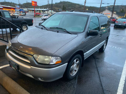 2002 Nissan Quest for sale at Pro Motors in Roseburg OR