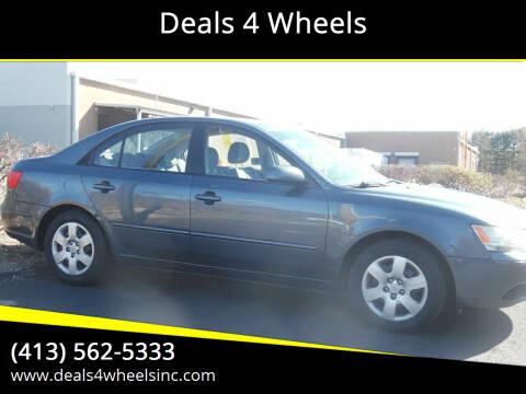 2009 Hyundai Sonata for sale at Deals 4 Wheels in Westfield MA