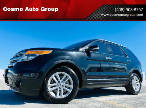 2014 Ford Explorer for sale at Cosmo Auto Group in San Jose CA