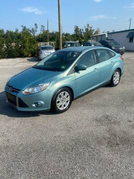 2012 Ford Focus for sale at Jamrock Auto Sales of Panama City in Panama City FL