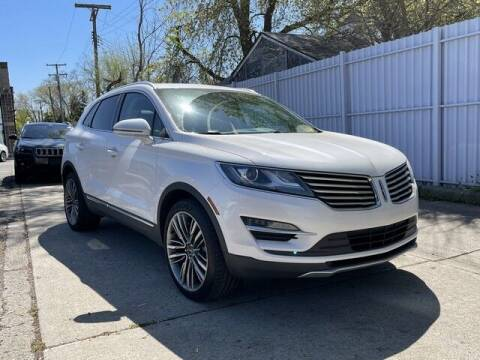 2016 Lincoln MKC for sale at SOUTHFIELD QUALITY CARS in Detroit MI
