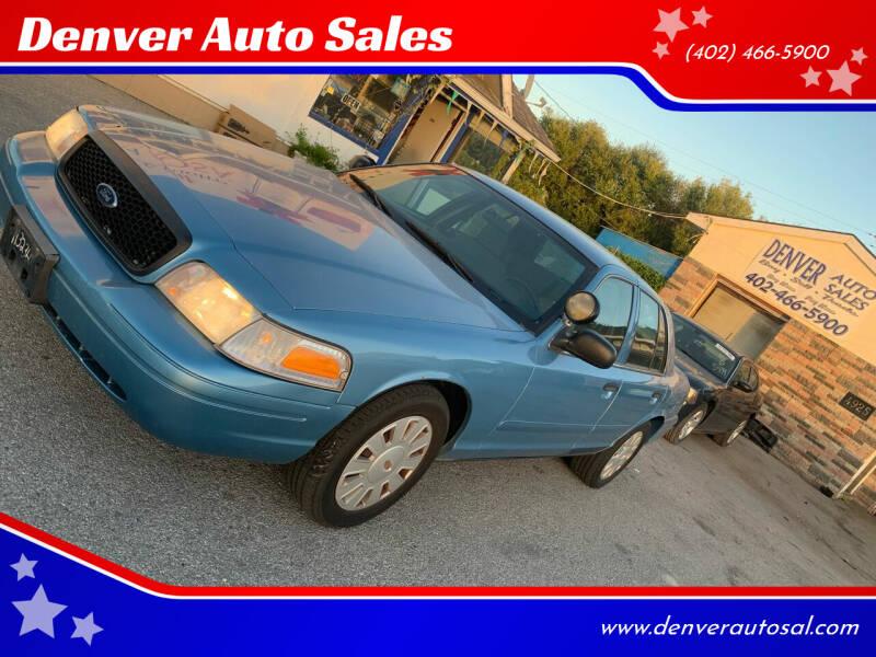 2008 Ford Crown Victoria for sale in Lincoln, NE