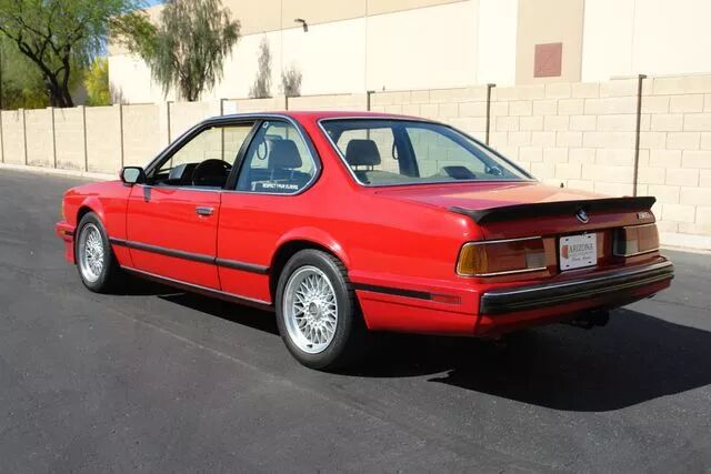 1988 BMW M6 5