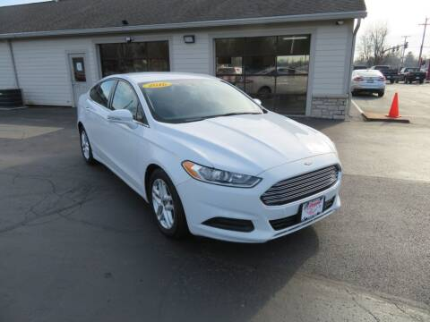 2016 Ford Fusion for sale at Tri-County Pre-Owned Superstore in Reynoldsburg OH