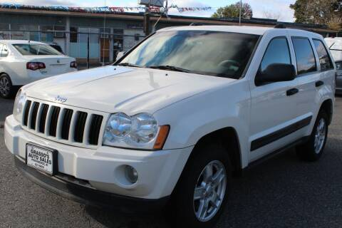 2005 Jeep Grand Cherokee for sale at Grasso's Auto Sales in Providence RI
