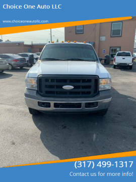 2006 Ford F-350 Super Duty for sale at Choice One Auto LLC in Beech Grove IN