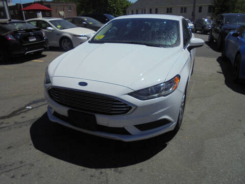 2017 Ford Fusion for sale at Washington Street Auto Sales in Canton MA