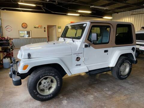 2001 Jeep Wrangler for sale at MJ'S Sales in Foristell MO