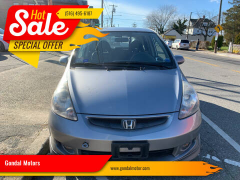 2008 Honda Fit for sale at Gondal Motors in West Hempstead NY