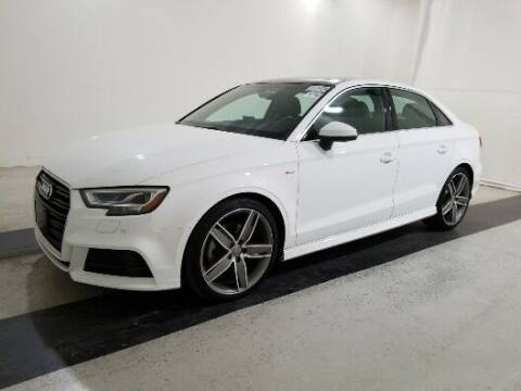 2017 Audi A3 for sale at Paradise Motor Sports LLC in Lexington KY