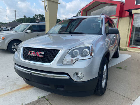 2012 GMC Acadia for sale at Quality Auto Today in Kalamazoo MI