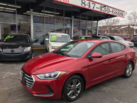 2018 Hyundai Elantra for sale at TOP YIN MOTORS in Mount Prospect IL