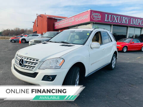 2009 Mercedes-Benz M-Class for sale at LUXURY IMPORTS AUTO SALES INC in North Branch MN