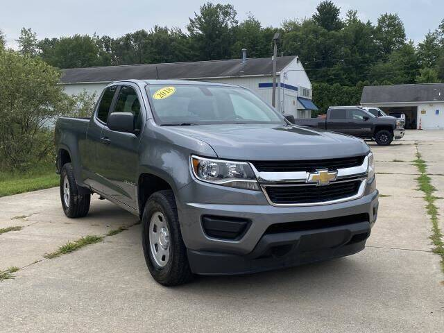 2018 Chevrolet Colorado for sale at Betten Baker Preowned Center in Twin Lake MI