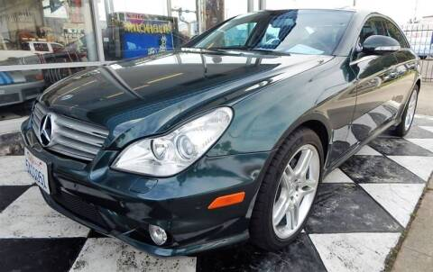 2007 Mercedes-Benz CLS for sale at Milpas Motors Auto Gallery in Ventura CA