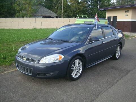 2009 Chevrolet Impala for sale at MOTORAMA INC in Detroit MI