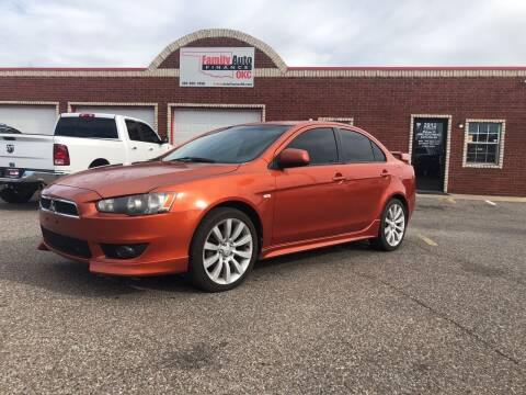 2009 Mitsubishi Lancer for sale at Family Auto Finance OKC LLC in Oklahoma City OK