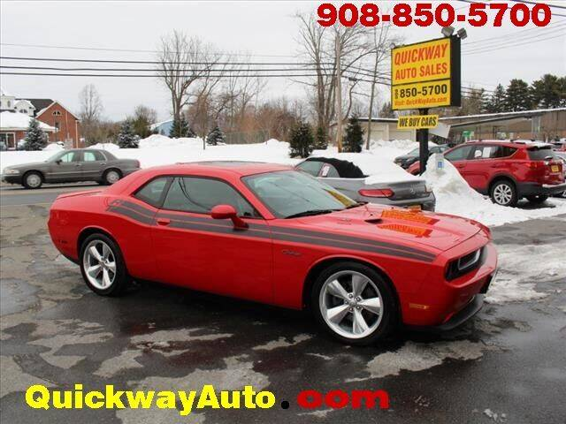 2013 Dodge Challenger for sale at Quickway Auto Sales in Hackettstown NJ