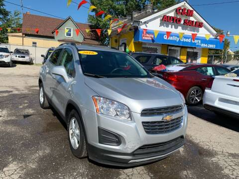 2016 Chevrolet Trax for sale at C & M Auto Sales in Detroit MI