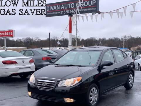 2010 Hyundai Elantra for sale at Divan Auto Group in Feasterville PA