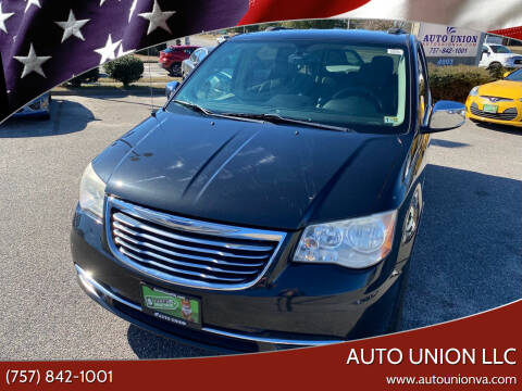 2012 Chrysler Town and Country for sale at Auto Union LLC in Virginia Beach VA