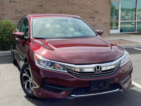 2016 Honda Accord for sale at AKOI Motors in Tempe AZ