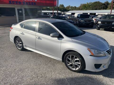 2013 Nissan Sentra for sale at Texas Drive LLC in Garland TX