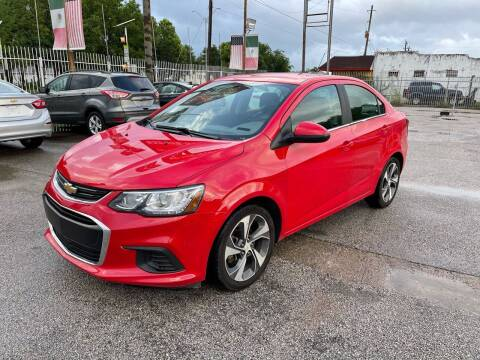 2019 Chevrolet Sonic for sale at Saipan Auto Sales in Houston TX