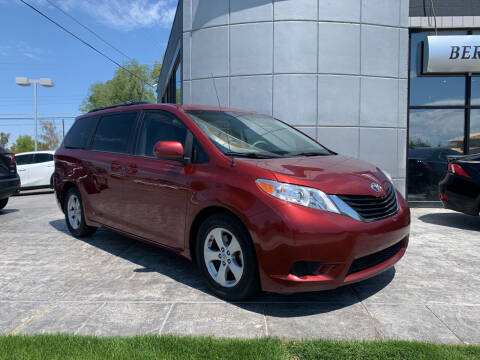 2014 Toyota Sienna for sale at Berge Auto in Orem UT