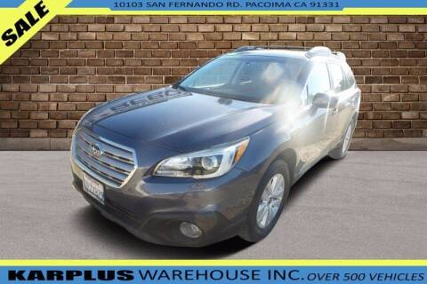 2016 Subaru Outback for sale at Karplus Warehouse in Pacoima CA