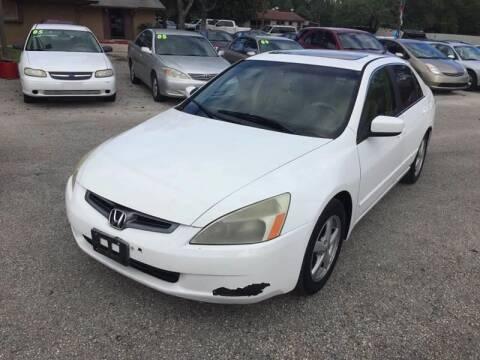 2003 Honda Accord for sale at John 3:16 Motors in San Antonio TX