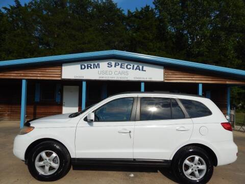 2008 Hyundai Santa Fe for sale at DRM Special Used Cars in Starkville MS