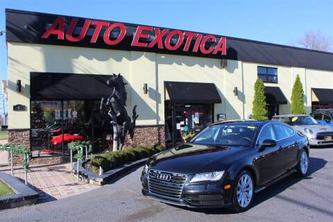 2012 Audi A7 for sale at Auto Exotica in Red Bank NJ