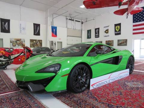 2016 McLaren 570S for sale at Cabriolet Motors in Morrisville NC