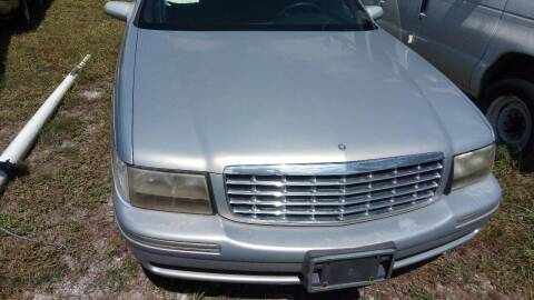 1997 Cadillac DeVille for sale at MOTOR VEHICLE MARKETING INC in Hollister FL