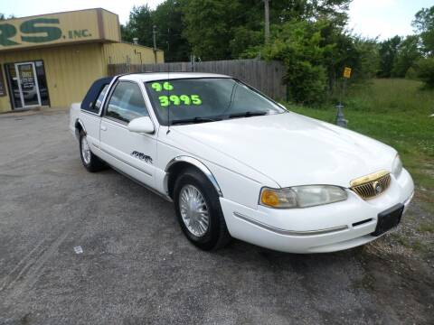 1996 Mercury Cougar for sale at Credit Cars of NWA in Bentonville AR