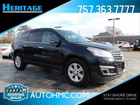 2014 Chevrolet Traverse for sale at Heritage Motor Company in Virginia Beach VA
