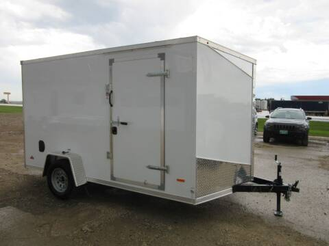2020 MTI 7' x 12' for sale at Nore's Auto & Trailer Sales - Enclosed Trailers in Kenmare ND