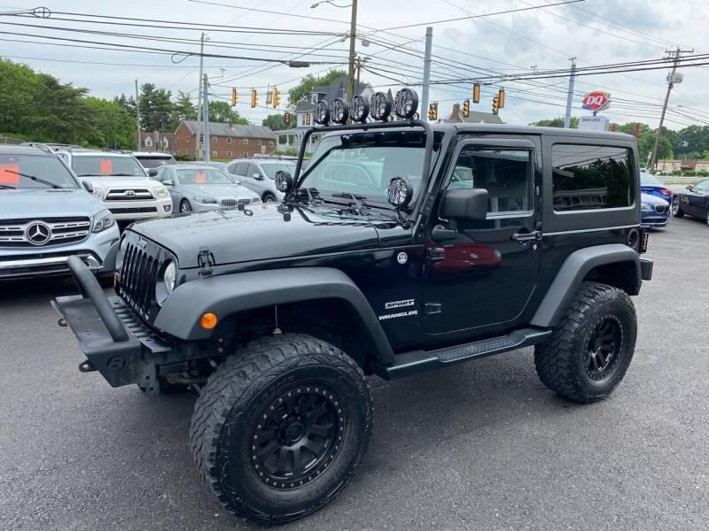 2012 Jeep Wrangler for sale at Masic Motors, Inc. in Harrisburg PA